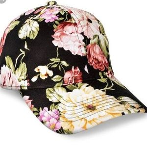 Xhilaration Hat / Cap for Womens Flowers OS